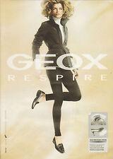Publicité  2009  GEOX chaussure