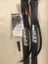 Hoyt Satori Recurve ILF Limbs 55# Medium Black Out Choice Of Riser Available