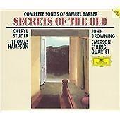 CHERYL STUDER - Barber: The Complete Songs - 2 CD - Box Set