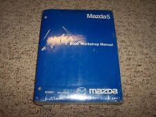 2008 Mazda Mazda5 5 Workshop Shop Service Repair Manual Sport Grand Touring 2.3L