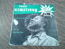 45 tours louis armstrong and his orchestra saint-louis blues