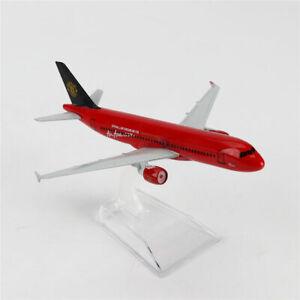 1/400 Airbus320 Air Asia.com Diecast Model BOEING A-320 Aircraft Plane 16cm