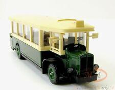 Solido 4401 autobus renault tn6c en vert/crème garage échelle 1:50