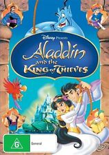 Aladdin and the King of Thieves * DVD region 4 * Robin Williams (Walt Disney)