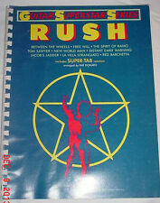 RUSH GUITAR SUPERSTAR SERIES 1986 TAB SHEET MUSIC CORE DONATO GOOD CONDITION