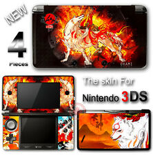 Okami Amaterasu Wolf SKIN VINYL STICKER DECAL COVER #1 for Nintendo 3DS