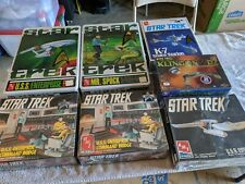 Lot 14 - Star Trek Ships - AMT Polar Lights - MIB