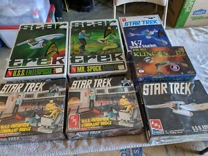 Lot 14 - Star Trek Ships - AMT Polar Lights - MIB