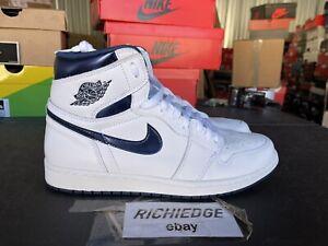 Nike Air Jordan 1 High OG Metallic Navy 2017 Size 11.5 VNDS 100% Authentic