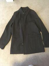 D'urban Japan Mens Long Wool Coat Dark Green Size Xl