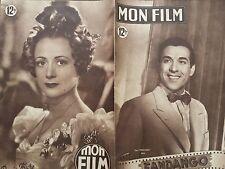 """MON FILM 1949 N 138 """" FANDANGO """" avec LUIS MARIANO et LUDMILLA TCHERINA"""