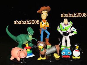 Tomy Disney Toystory Toy story Woody Buildable Figure Gashapon (full set 6 pcs)