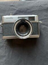 Minolta HI-MATIC 7S 35mm Camera w/Rokkor 45mm F/1.8