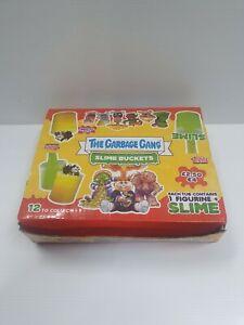 The Garbage Gang Slime Buckets Full Box Rare! GPK pail Kids