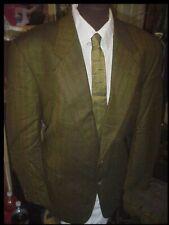 Vintage 1960's  Mens RAT PACK Suit Coat Jacket Blazer 44 w/ Shark Skin NECK TIE