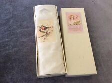 Tamielle Handkerchief - Boxed - Bird w/ Pink Flower