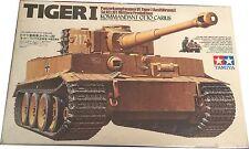Tamiya PanzerKampfwagen VI Tiger I Ausfuhrung E Sd.Kfz 181 Mittler Produktion