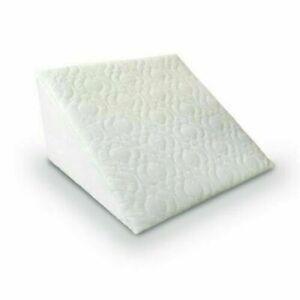"Luxury memoryfoam wedge pillow cushion Orthopaedics back support 20"" x 18"" x 11"""