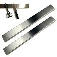 2x Edelstahl Messer Magnetleiste 40cm | Messerleiste Küchenmesser Magnetisch