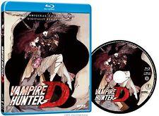 Vampire Hunter D (Blu-ray Disc, 2015)