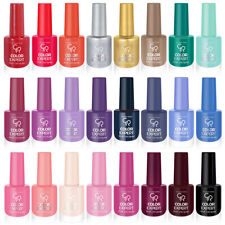 6 Nail Polish Set Golden Rose Color Expert Nail Lacquer 24 Different Colours