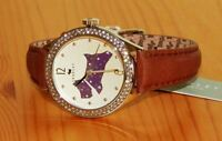 Ladies Radley London Scottie Dog Brown Leather Watch Stones RY2210-RRP £95.NEW