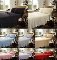 Luxury Flat Sheet Flannelette Flat Bed Sheet 100% Cotton Plain Bed Sheet Bedding