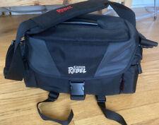 Canon Rebel Camera Bag Genuine Soft Travel Case Shoulder Strap accessory Pickets