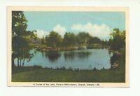 A CORNER OF THE LAKE ONTARIO REFORMATORY GUELPH ONTARIO, CANADA VINTAGE POSTCARD