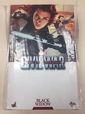 Hot Toys MMS 365 Captain America 3 Civil War Black Widow Scarlett Johansson NEW