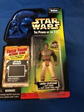 Star Wars The Power Of The Force Lando Calrissian As Skiff Guard Kenner