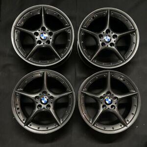 """Genuine BMW BBS Style 108 Split Rim 18"""" Alloys GUN METAL GREY E85 E86 Z3 Z4 E46"""