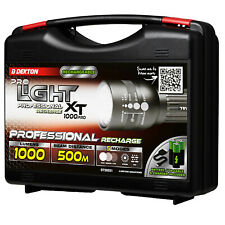 Dekton Pro Light XP1000 COB LED Torch USB Rechargeable 1000 Lumens 500Meter Beam