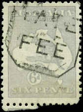 "Australia Scott #48 Used ""Late Fee"" Cancel"