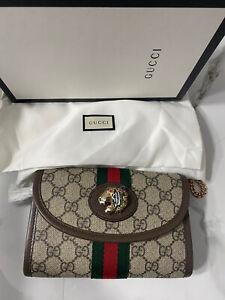 Gucci Rahjah GG Supreme Canvas  Crossbody Bag