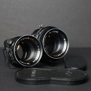 Near Mint Mamiya Sekor DS 105mm f3.5 TLR Lens For C220/C330 + Caps
