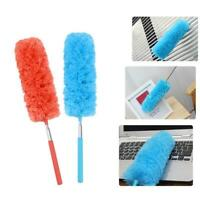 Extendable Telescopic Microfiber Cleaning Duster Feather Style Extend Brush E8Z8