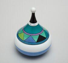 Emilio Pucci for Rosenthal Studio-Line Porcelain Lidded Bowl Signed RARE
