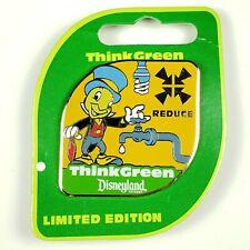 Disney Dlr Jiminy Cricket Think Green Reduce Pin Le 1000 Oc Htf Environmentality