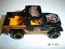 Custom Black Cincinnati Bengals Jeep Scrambler