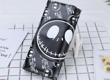 lot nightmare before Christmas black cartoon fshion wallet Fold purses bag black