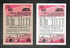 """1989-90 O Pee Chee """"Tembec Test"""" & Regular Cards Capitals #165 Mike Ridley"""
