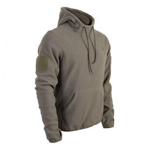 Taktischer BW Pullover mit Hoheitsabzeichen Fleece Hoodie BW Klett Rubber Patch