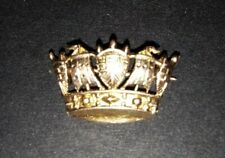 Vintage 9ct  Gold Naval Crown Tie Pin with Pin Fitting Royal Navy Officers
