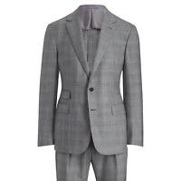 Ralph Lauren Purple Label Gregory 2 Button Handmade Glen Plaid Wool Suit NWT 40R