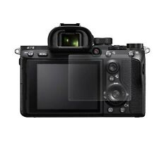 TWO Tempered Glass Screen Protector Guard for Sony Alpha A7RIII / A7III / more