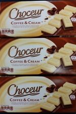 3 X Choceur German Coffee and Cream Bars.3 Pack,1/2 lb Bars Free Expedited Ship