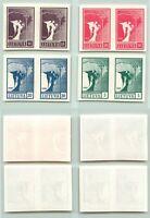 Lithuania 1990 SC 371-374 MNH pairs . e7847