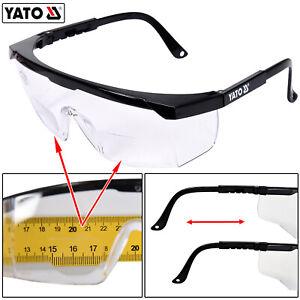 Profi Schutzbrille mit Sehstärke Arbeitsschutzbrille Dioptrien von 1,0 bis 3,0