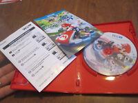 Mario Kart 8 Nintendo Wii U COMPLETE  LIKE NEW WORKS PERFECTLY